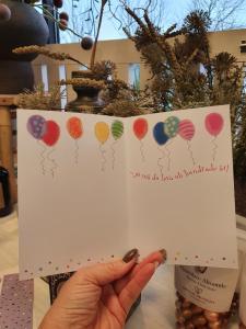 Ja må du leva, ja må du leva - Kort med ballonger, Pictura