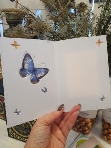Grattis - Kort med fjärilar, Pictura