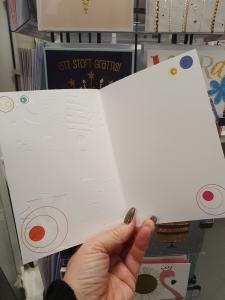 Happy Birthday, Festligt kort med stora färgglada bokstäver, Pictura