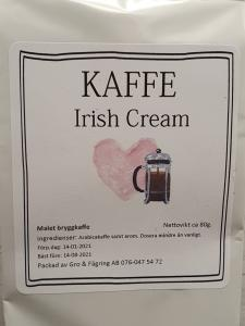 Kaffe Irish Cream