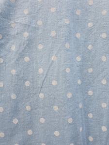 Klänning Prickig Ljusblå - Rough & Rose