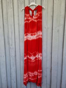 Klänning Batik Röd - Rough & Rose
