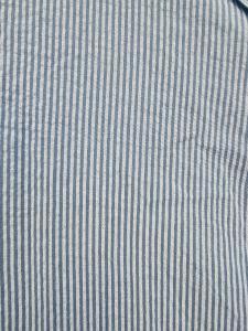 Klänning Smalrandig Ljusblå - Rough & Rose