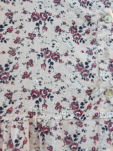 Klänning Rosor Ljusrosa med mörkrosa blommor - Rough & Rose