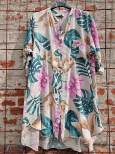 Långskjorta Hawaii Sand - Rough & Rose