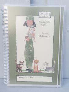 Kalender 2020 - A5 (Minsta lilla katt...)