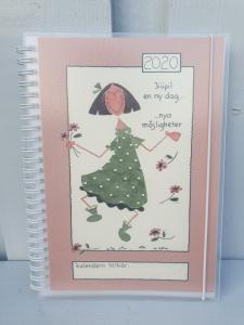 Kalender 2020 - A5 (Jiiipi! En ny dag, nya möjligheter)