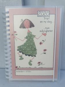 Kalender 2020 - A6 (Jiiipi! En ny dag, nya möjligheter)