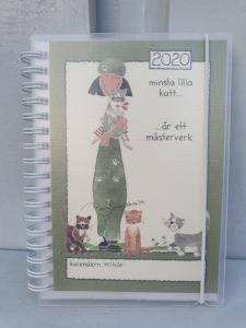 Kalender 2020 - A6 (Minsta lilla katt...)