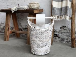 Toalettpappershållare - Vit, Chic antique