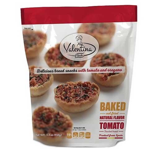 Toast/snacks, tomat/oregano