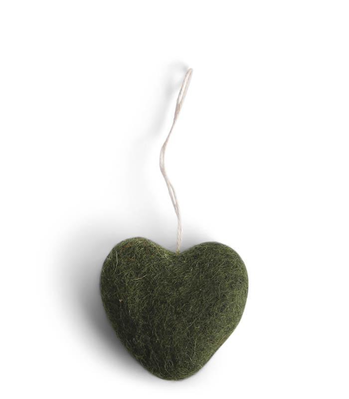 Tovat grönt hjärta - En Gry & Sif