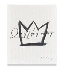 Disktrasa Queen of fucking everything (vit), Carolina Gynning