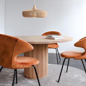 UMAGE Lampskärm Clava Dine Wood - Ljus Ek
