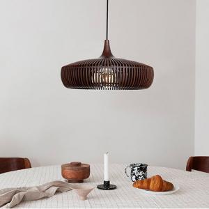 UMAGE Lampskärm Clava Dine Wood - Mörk Ek