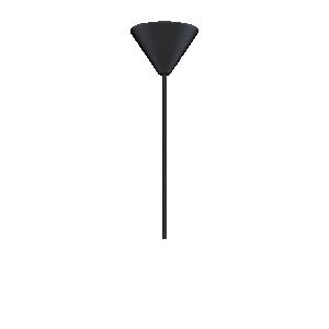 UMAGE Sladdset kupa, E27, 60W, Svart