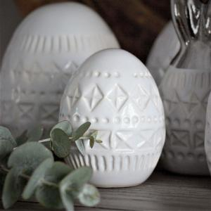 Maja - Bohemian decor egg (6x8 cm)