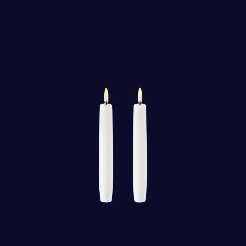 UYUNI Kronljus LED 2-pack switch Vit 2,3x18,3CM