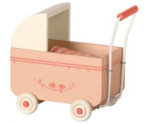 Maileg, MY puderrosa barnvagn