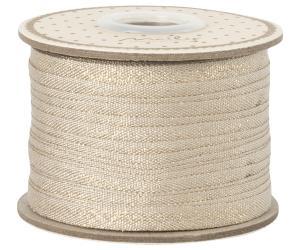 Vanilj guld vävt bomullsband - Maileg    LEV NOV/DEC