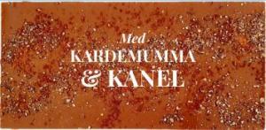 Kardemumma & Kanel, Mjölkfri choklad 40% (Vegan) - Pralinhuset