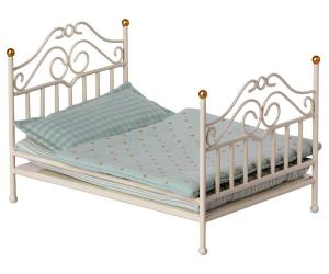 Vintage bed micro, off white - Maileg     KOMMER I SEP/OKT