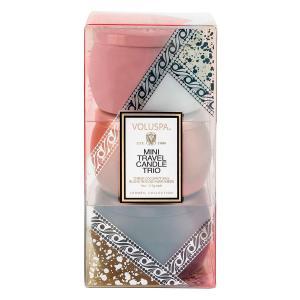 Voluspa Decorative Tin Candle Vermail (doftljus) 3-pack