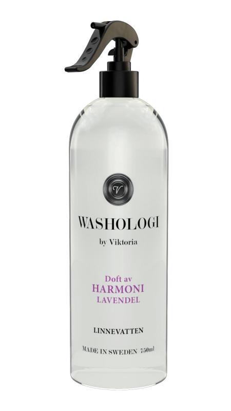Washologi - Linnevatten Harmoni 750ml,  Lavendel