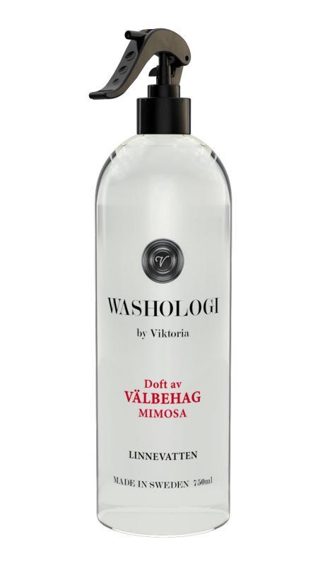 Washologi - Linnevatten Välbehag 750ml, Mimosa