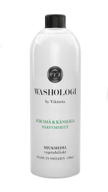 Washologi - Mjukmedel För Små & Känsliga 750ml, Oparfymerad