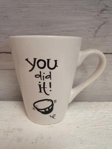 You did it! - Mugg från Lyckliga L8