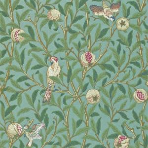 Tapet William Morris Bird and Pomesgranate
