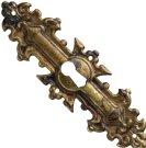 Nyckelskylt/ antikbehandlad mässing