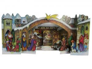 Adventskalender Julkrubba