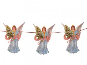 Girland Blå änglar