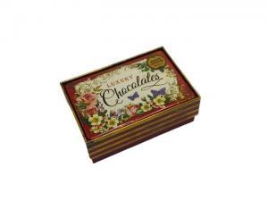 Plåtask Nostalgia luxury chokolates/ Presentask