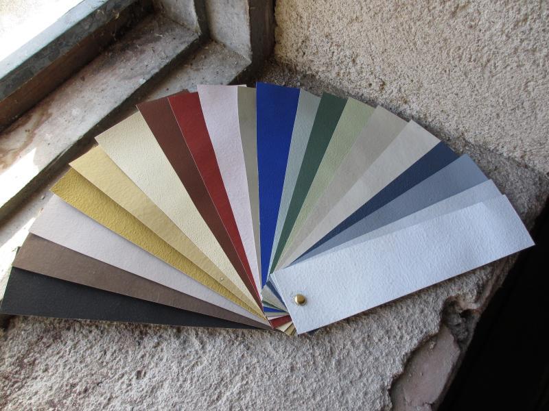 Kulörprover/ Anno 1800/ Färgprover