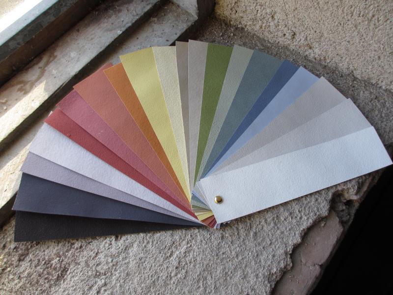 Kulörprover/ Anno 1900/ Färgprover