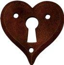 Nyckelskylt hjärta