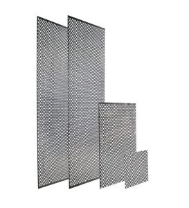 Perforerad plåt/ Elementskydd/ Ventilgaller/ Klöverplåt