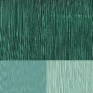 Smaragdgrönt/ Konstnärsfärg/ Linolja