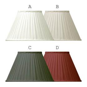 Lampskärm/ Veckad textilskärm