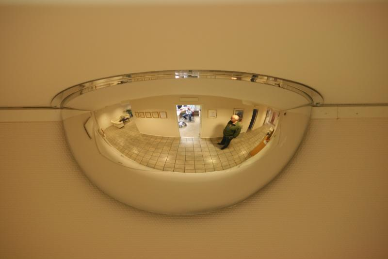 Spegelkupol 180° 1/2