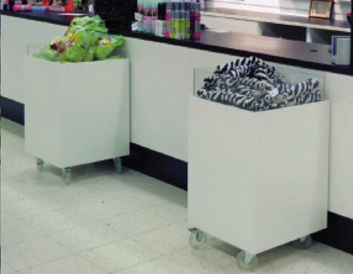 Expobox med Akrylkant Stor