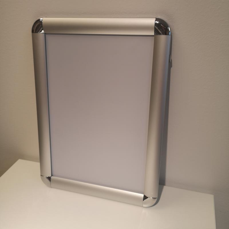 Snäppram A4 aluminium