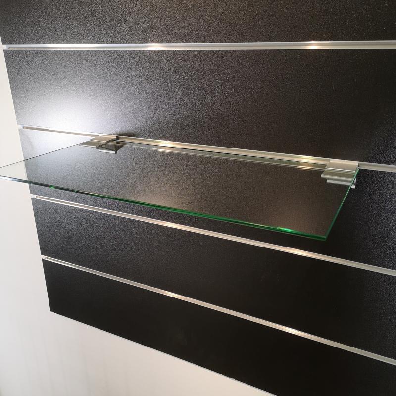 Glashylla 6mm inkl aluminiumbärare