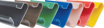 Spårlist 1200 PVC Vit