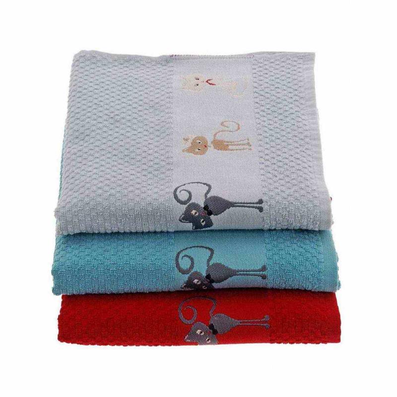 2 pcs. Tea towel CATS