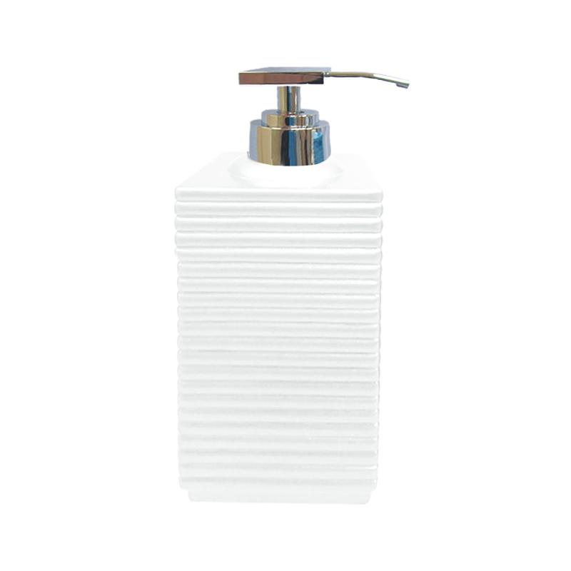 Tips på exklusiv badruminredning online till trendiga badrum. Tvålpump Linio Vit