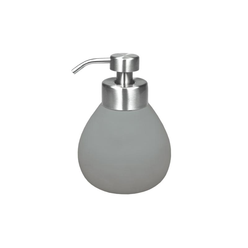 Tips på exklusiv badruminredning online till trendiga badrum. Tvålpump Siri Antracit